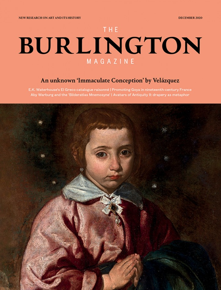 December 2020, #1413 – Vol 162 | - The Burlington Magazine